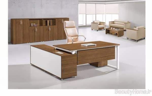 مدل میز ساده و جذاب اداری