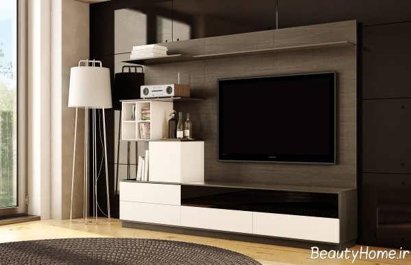 مدل میز ال سی دی سفید