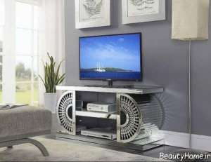مدل میز تلویزیون فلزی