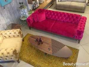 مدل مبل چستر در تم رنگی
