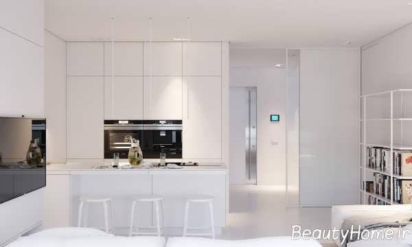 آشپزخانه مینیمال و مدرن