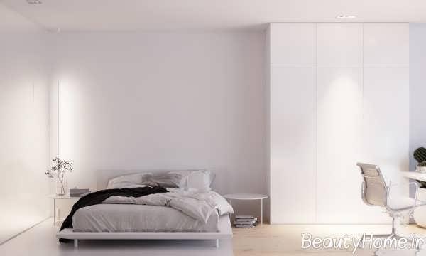 اتاق خواب مینیمال