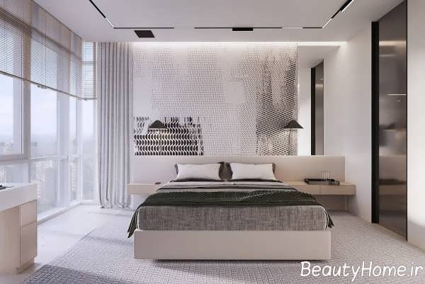 اتاق خواب با دیزاین مینیمال