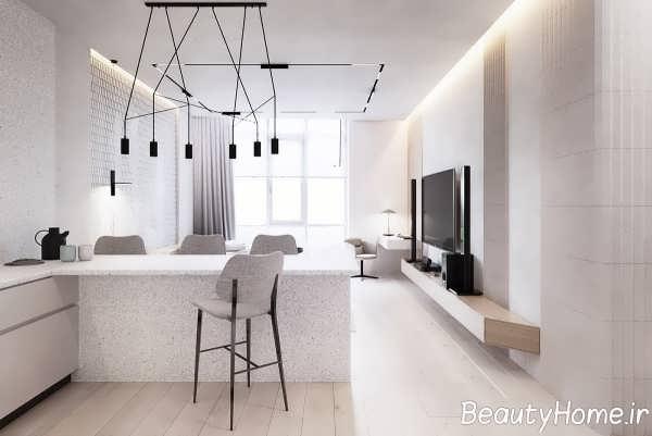 طراحی خانه امروزی با سبک ساده گرایی