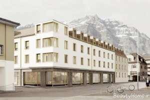 نمای ساختمان سفید