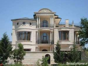 نمای خارجی کلاسیک ساختمان