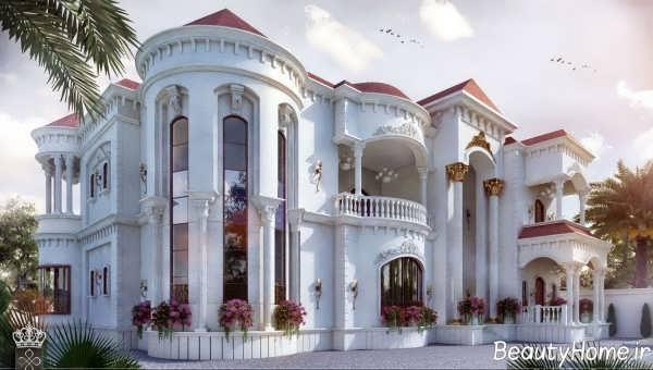 نمای کلاسیک ساختمان 2019