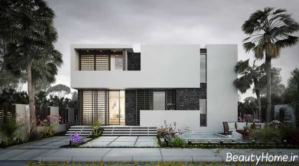 طراحی نما خانه ویلایی