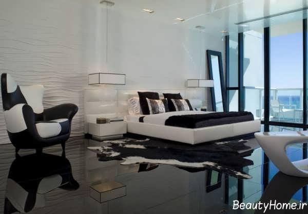 دکوراسیون زیبا و لاکچری اتاق خواب
