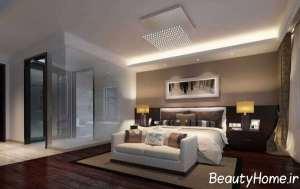 طراحی نور مخفی اتاق خواب