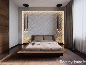 طراحی نور مخفی برای اتاق خواب