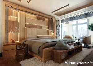 نورپردازی اتاق خواب دو نفره