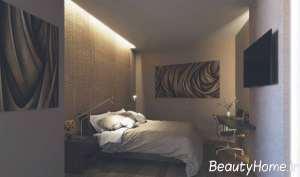 نورپردازی مخفی در اتاق خواب