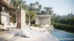 طراحی دکوراسیون خانه ویلایی