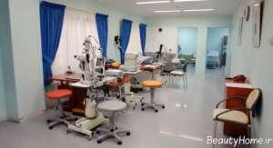 دکوراسیون کلینیک چشم پزشکی