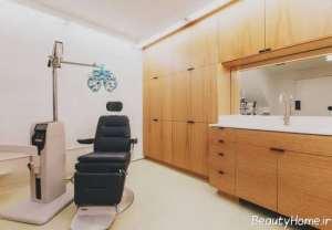 دکوراسیون داخلی مطب چشم پزشک