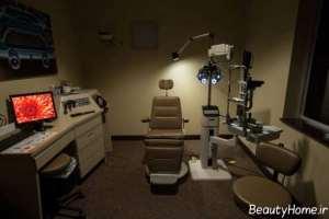 نورپردازی مطب چشم پزشک