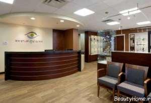 طراخی داخلی اتاق انتظار پزشک
