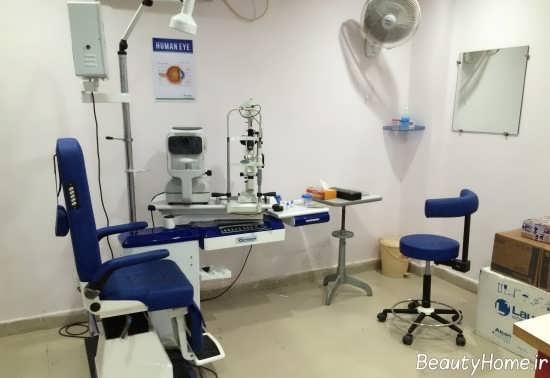 دکوراسیون مطب چشم پزشکی