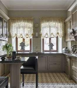 مدل پرده برای آشپزخانه
