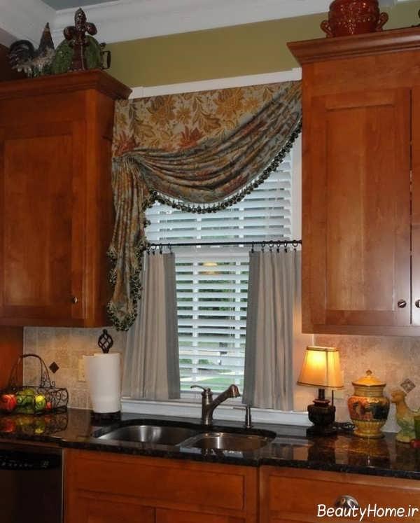 مدل پرده شیک آشپزخانه