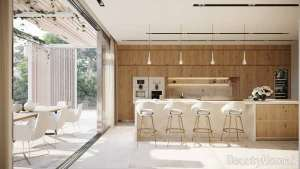 دکوراسیون مدرن و شیک آشپزخانه