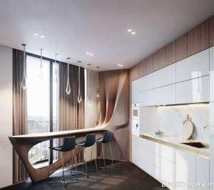 طراحی نورپردازی برای آشپزخانه