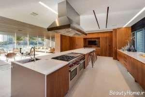 طراحی دکوراسیون مدرن آشپزخانه