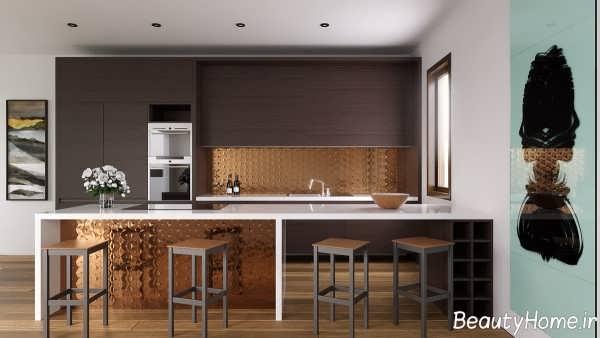 طراحی داخلی مدرن آشپزخانه