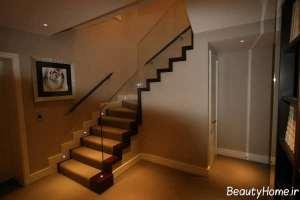 طراحی نورپردازی برای پله