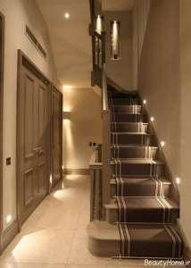 نورپردازی پله منزل
