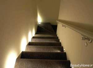 نورپردازی خاص و کاربردی راه پله