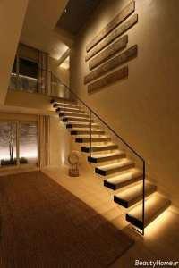 طراحی نورپردازی برای راه پله