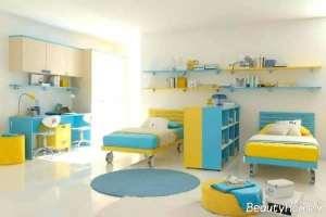 دکوراسیون اتاق کودک دوقلو