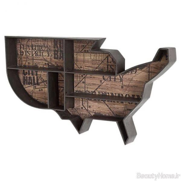 مدل شلف دیواری زیبا