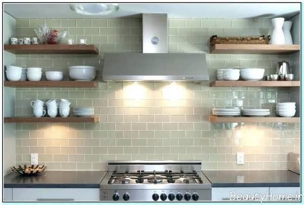 شلف دیواری برای آشپزخانه