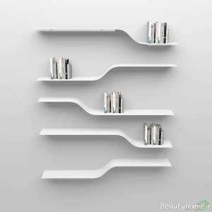 شلف دیواری سفید