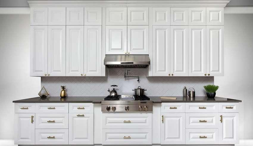 مدل کابینت آشپزخانه سفید