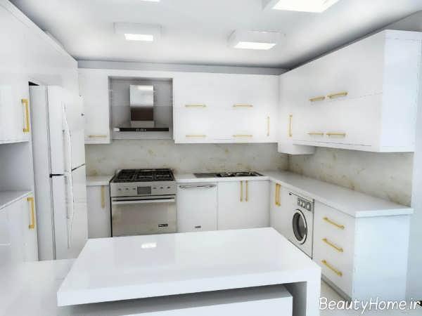 مدل کابینت آشپزخانه زیبا و جدید