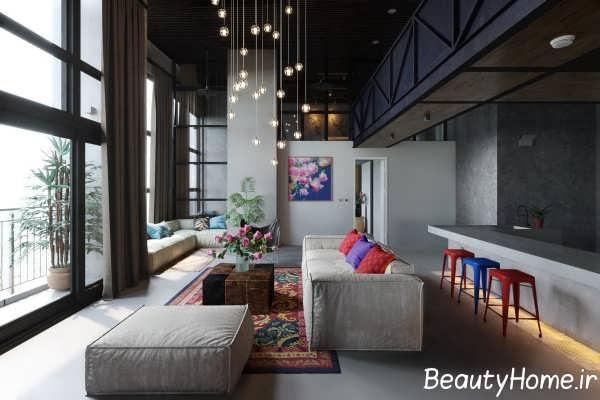 نورپردازی ایده آل در اتاق شیک