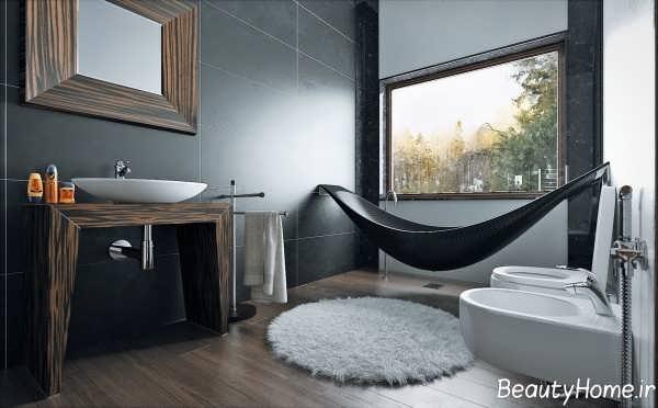 دکوراسیون داخلی حمام مدرن