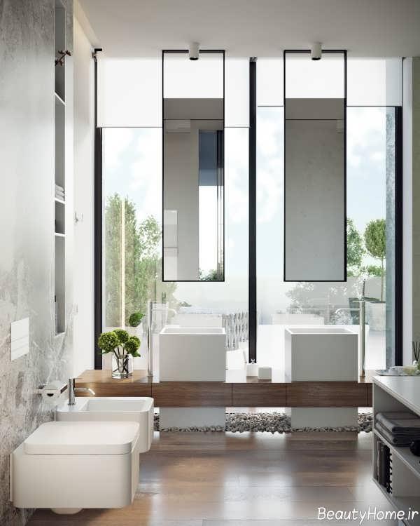 دکوراسیون زیبا و بی نظیر حمام