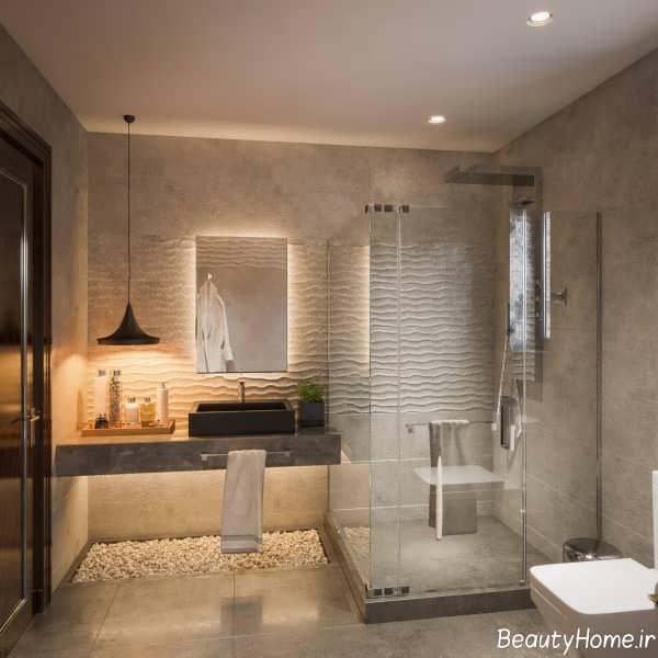 دکوراسیون شیک و مدرن حمام