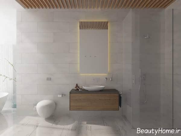 دکوراسیون زیبا و شیک حمام