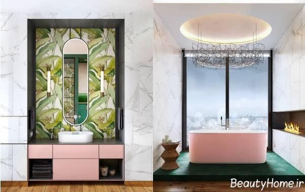 طراحی دکوراسیون مدرن برای حمام