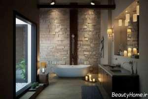 دکوراسیون زیبا و خاص حمام