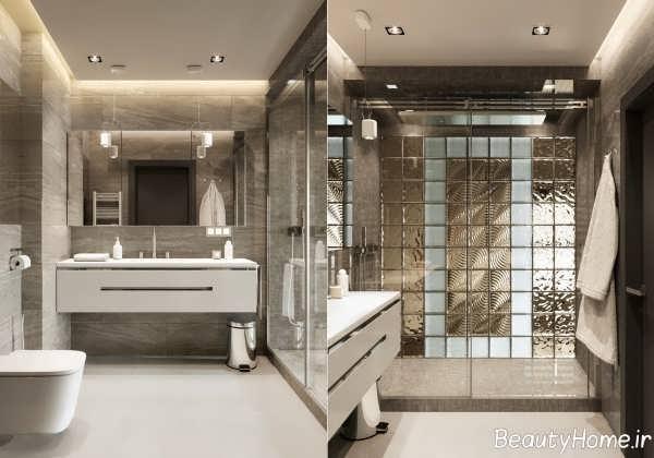 طراحی زیبا و شیک حمام