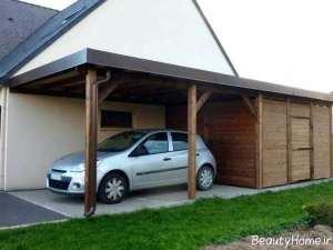 سایبان زیبا برای خودرو