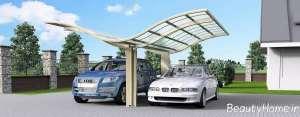 سایبان شیک و کاربردی برای خودرو