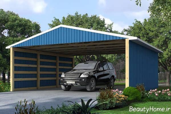 سایبان آبی برای خودرو